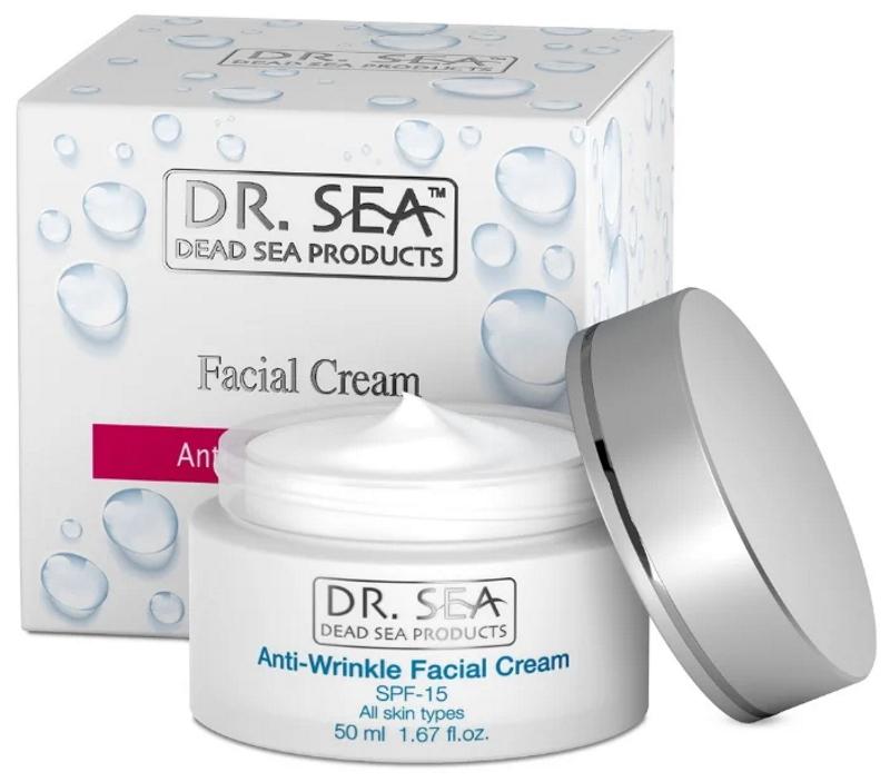 Dr. Sea Anti-Wrinkle Facial с SPF 15