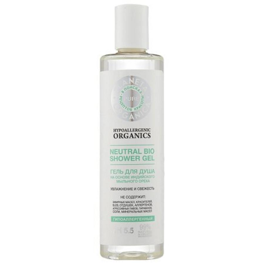Гель для душа «Planeta Organica Pure Увлажнение и свежесть»