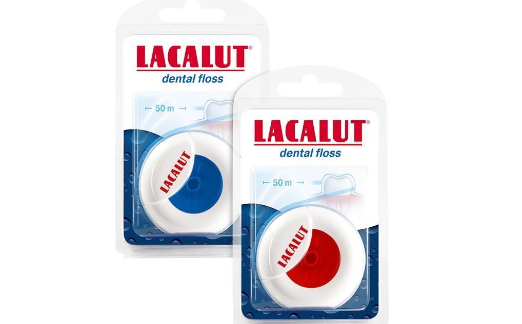 Lacalut зубная нить Dental