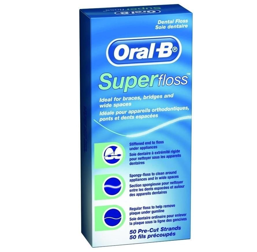 Oral-B: зубная нить Super