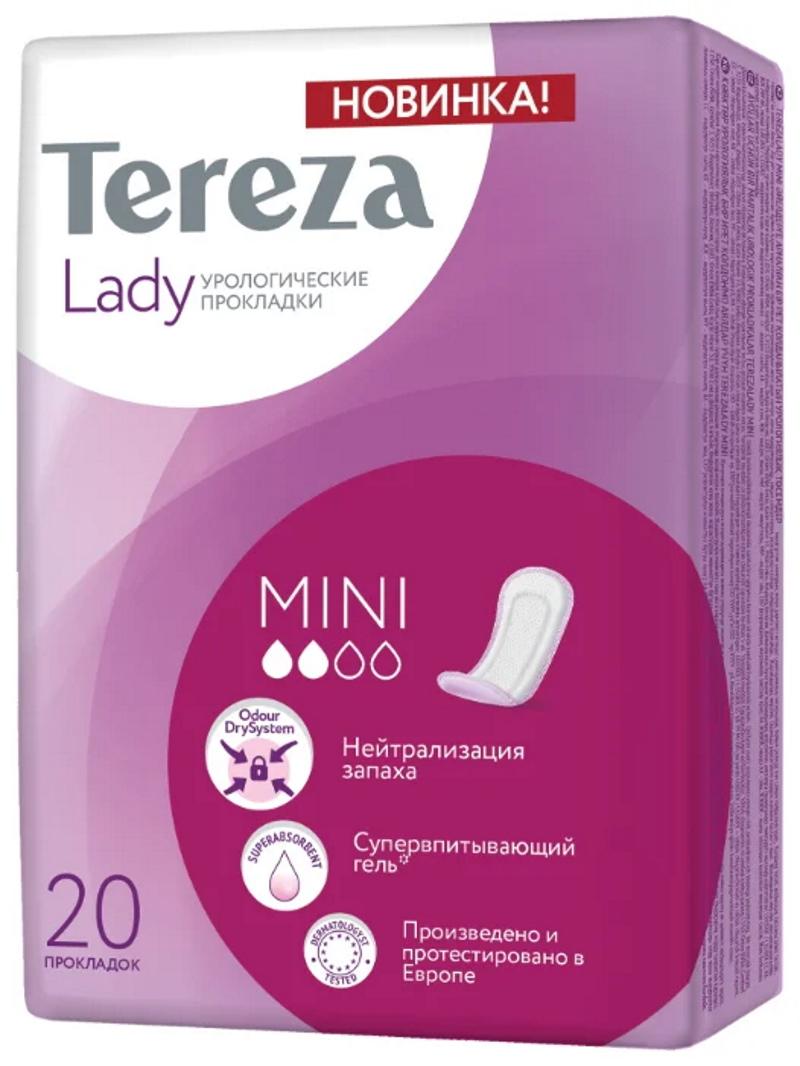 Урологические прокладки TerezaMed Lady Mini 90081 (20 шт.)