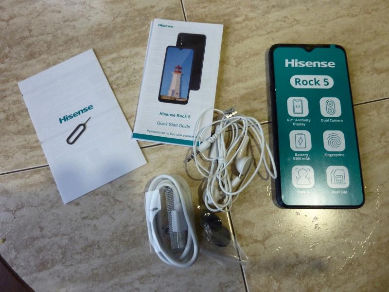 smartfon-hisense-rock-5-4-64gb Смартфон Hisense Rock 5 4/64GB