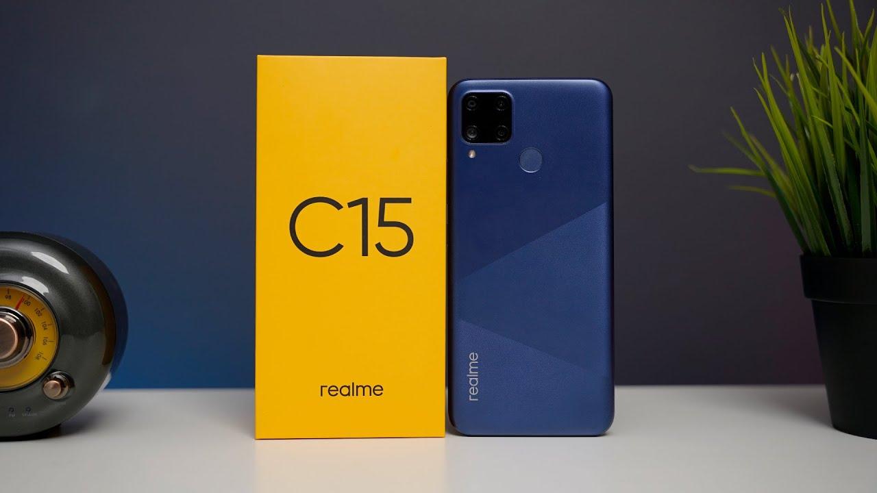 Смартфон Realme C15 4/64GB