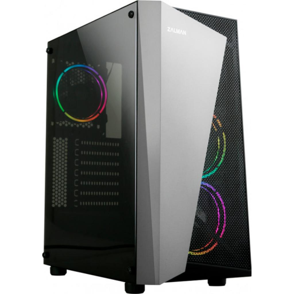 Компьютерный корпус Zalman S4 Plus Black