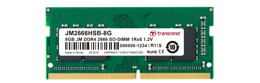 Оперативная память 8 GB Transcend JM2666HSB-8G