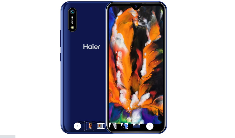 Смартфон Haier I4 2/16Gb синий