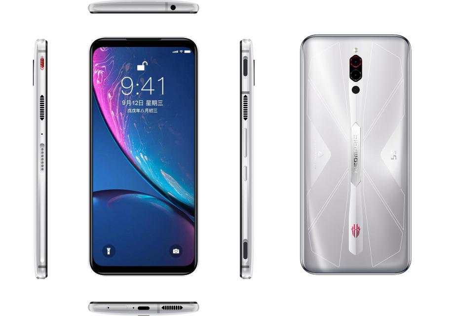 Смартфон ZTE Nubia Red Magic 5S (NX659J) 8 Gb/128 Gb
