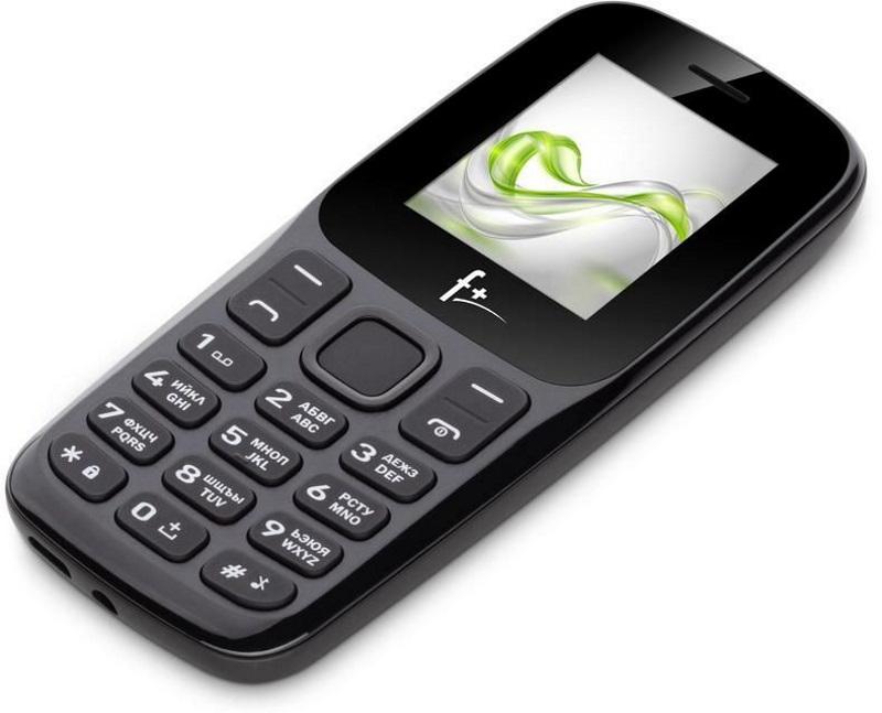 Сотовый телефон F+ FF196 черный