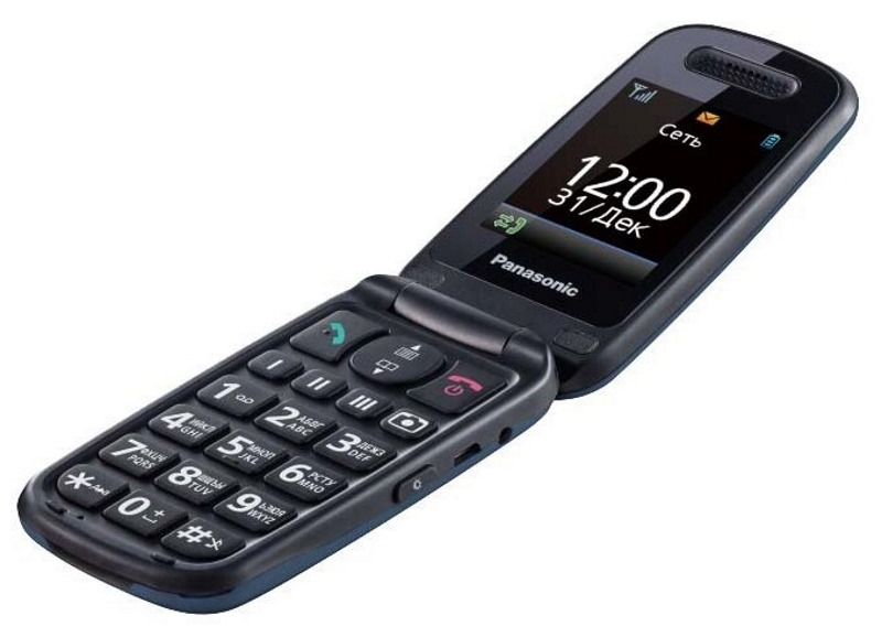 Сотовый телефон Panasonic KX-TU456 синий