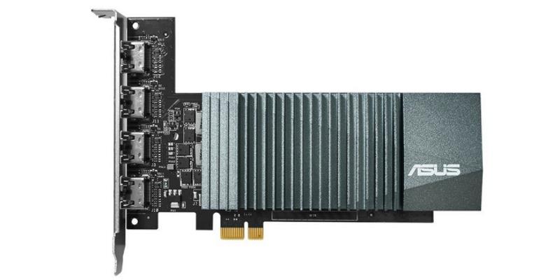 Видеокарта ASUS GeForce GT 710 Silent LP 2GB (GT710-4H-SL-2GD5)