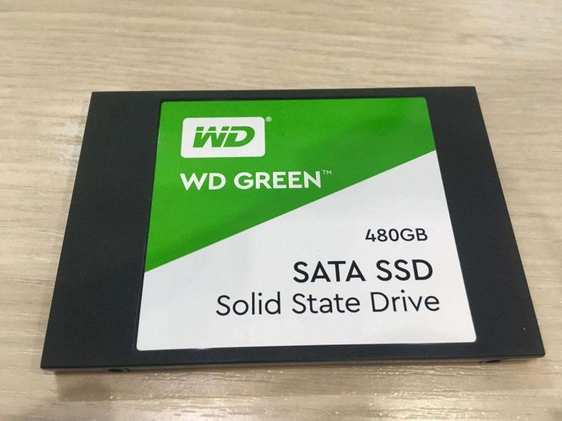 Western Digital WD Green SATA 480 GB WDS480G2G0A