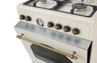 лучшие газовые плиты с электрической духовкой