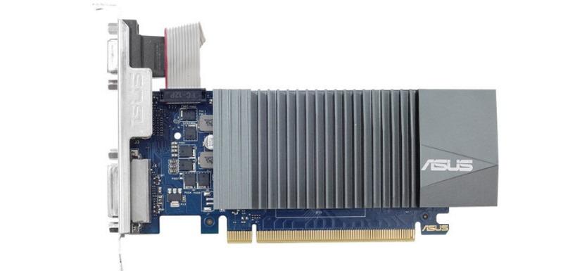 Видеокарта ASUS GeForce GT 710 Silent LP 2GB (GT710-SL-2GD5)