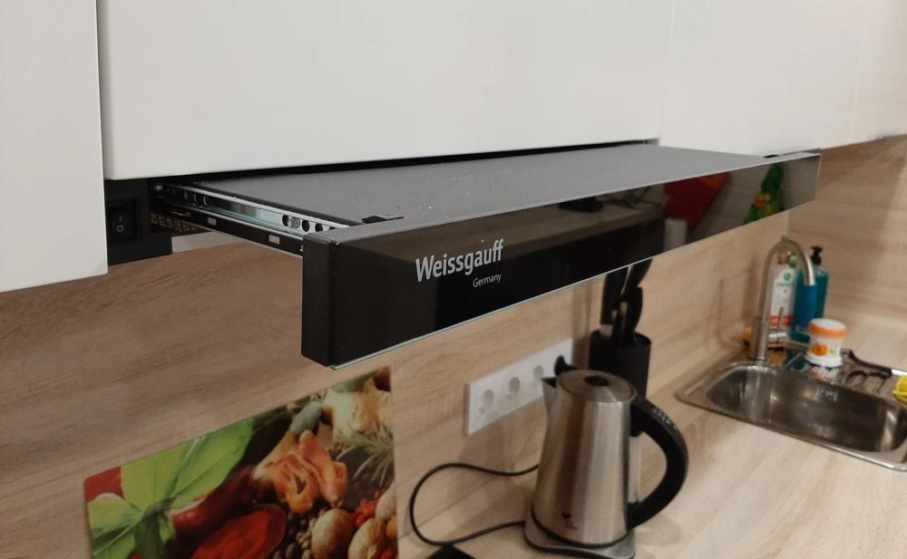 Встраиваемая вытяжка Weissgauff TEL 06 2M BL