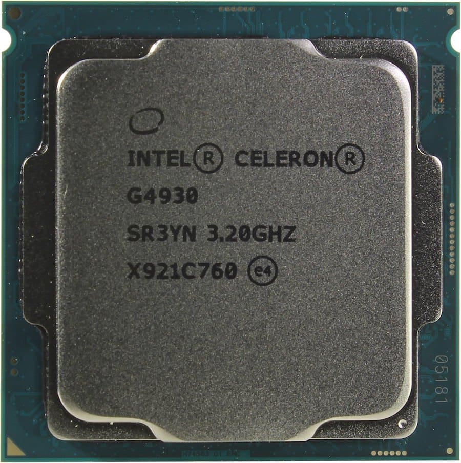 Intel Celeron Coffee Lake