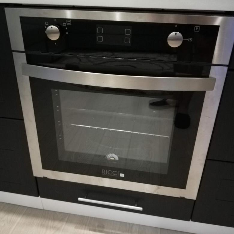 газовый духовой шкаф RICCI RGO-650IX