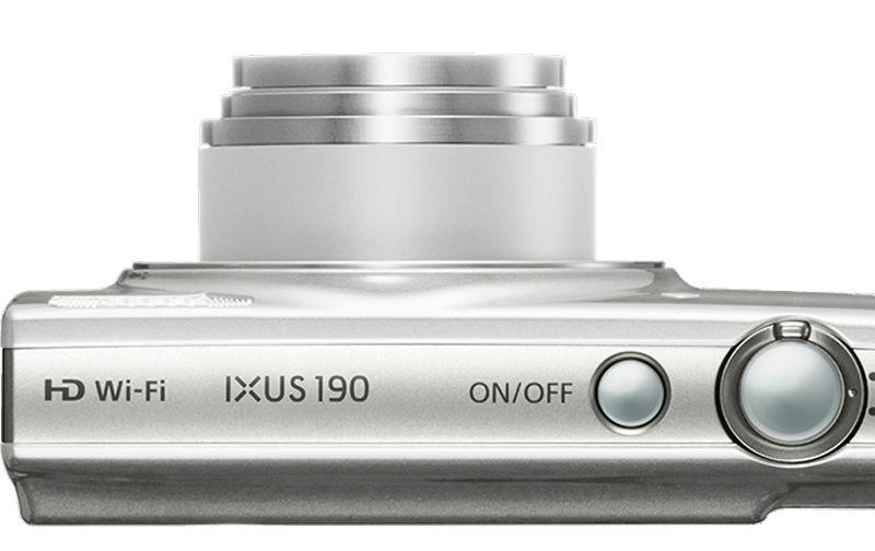 Canon IXUS 190 серебристый