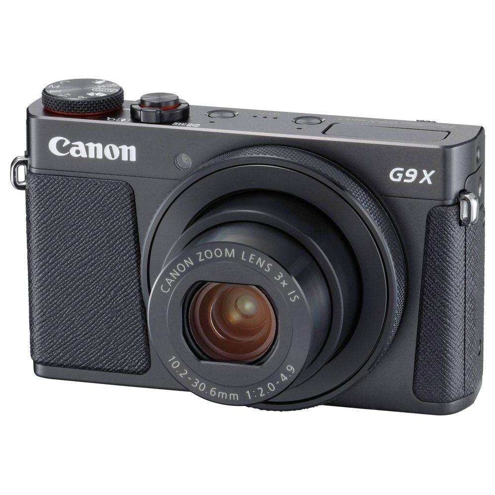 Canon PowerShot G9 X Mark II черный